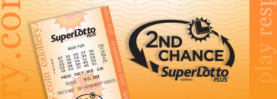 2nd Chance SuperLotto Plus, cblottery ticket